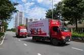 Le groupe Central Retail vient de faire don de 1.500 lits pliants à Hô Chi Minh-Ville