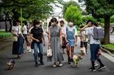 Au Japon, une patrouille de chiens veille sur les enfants