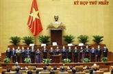 Elections de quatre vice-présidents de l'Assemblée nationale