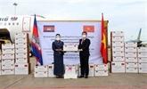 Lettre de remerciement au Cambodge pour son soutien à Hô Chi Minh-Ville