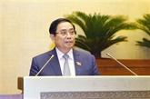 XVe Assemblée nationale : maintenir la structure actuelle du gouvernement