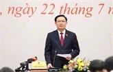Vuong Dinh Huê indique trois points clés pour améliorer les activités de l'organe législatif
