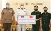 COVID-19 : le ministère vietnamien de la Défense offre des fournitures médicales à Cuba