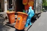 COVID-19 : les localités doivent traiter les déchets médicaux générés