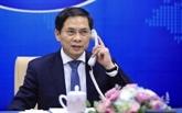 Vietnam - France : conversation téléphonique entre les deux ministres des AE