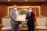 L'ambassadeur de Finlande au Vietnam à l'honneur