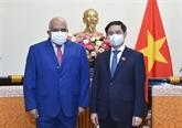 Vietnam - Cuba : promouvoir le transfert de technologies de la production de vaccins