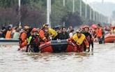 Inondations en Chine : au moins 56 morts, un typhon menace l'Est du pays