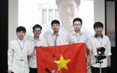Les élèves vietnamiens font le plein de récompenses à l'IMO 2021