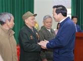 Le président de la République affirme la gratitude de la nation pour les invalides et martyrs