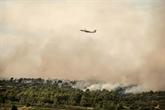 France : l'incendie dans l'Aude toujours pas fixé, un risque de reprise