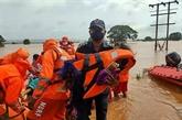 Le bilan s'alourdit à 124 morts, des dizaines de disparus recherchés