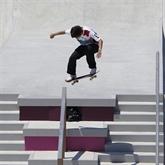 Le Japonais Yuto Horigome, premier champion olympique de l'histoire en skateboard