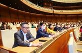 L'Assemblée nationale procède aux élections du président et du Premier ministre