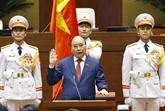 Le président vietnamien Nguyên Xuân Phuc prête serment