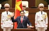 Le Premier ministre Pham Minh Chinh prête serment