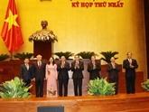 Assemblée nationale : la vice-présidente, les chefs de la Cour et du Parquet populaires suprêmes réélus