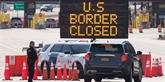 COVID-19 : les frontières des États-Unis restent fermées