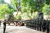 Army Games 2021 : cérémonie marquant le départ de la délégation de l'arme d'artillerie du Vietnam