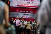 La Bourse de Hong Kong pâtit de nouveau des pressions de Pékin sur le secteur éducatif