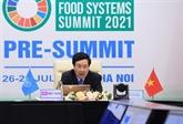 Le Vietnam espère devenir un centre régional d'innovation des systèmes alimentaires