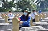 Les soldats tombés honorés le Jour des invalides de guerre et des morts pour la Patrie
