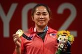 Une médaille d'or à 655.000 USD pour Hidilyn Diaz, première championne olympique philippine