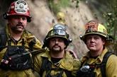 En Californie, des pompiers dépités face à des incendies sans fin
