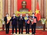 L'AN approuve la nomination à nouveau de quatre vice-Premiers ministres