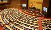 Assemblée nationale : communiqué de presse sur les résultats de la première session