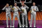 JO-2020 : Américaines et Lettons premiers ambassadeurs en or du basket 3x3