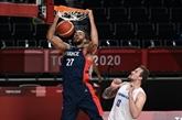 JO-2020: les les basketteurs français voient triple et peuvent voir loin