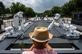 JO-2020 : des robots reconvertis en jardiniers zen exposés à Tokyo