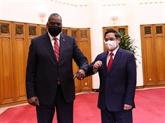 Le Premier ministre vietnamien reçoit le secrétaire américain à la Défense