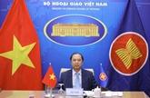 Le Vietnam à une réunion des hauts officiels de l'ASEAN