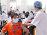 Campagne de vaccination anti-COVID-19 chez PetroVietnam