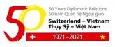 2021, une année spéciale dans les relations Vietnam - Suisse