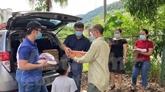 Soutien aux Vietnamiens en Malaisie affectés par l'épidémie