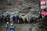Coulée de boue au Japon : des dizaines de personnes toujours introuvables