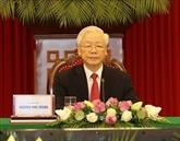 Le chef du PCV assiste au Sommet entre le PCC et les Partis politiques du monde