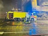 Incendie maîtrisé dans le port principal de Dubaï après une explosion