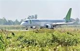 L'exploitation d'avions d'Embraer à l'aéroport de Cà Mau à l'étude