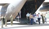 Rapatriement des restes d'un soldat américain porté disparu au Vietnam