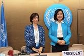 Le Vietnam assume le rôle de vice-président d'une session d'un organe onusien