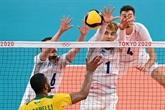 JO-2020 : les volleyeurs français qualifiés pour les quarts de finale