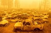 Greenville avant et après l'incendie monstre qui ravage la Californie