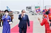 Le président vietnamien termine sa visite d'amitié officielle au Laos