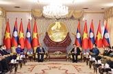 La visite au Laos du président vietnamien ''enregistre des résultats complets''
