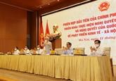 Première réunion du gouvernement du mandat 2021-2026