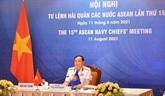 ANCM 15 : le Vietnam exhorte à une coopération active entre les Marines de l'ASEAN